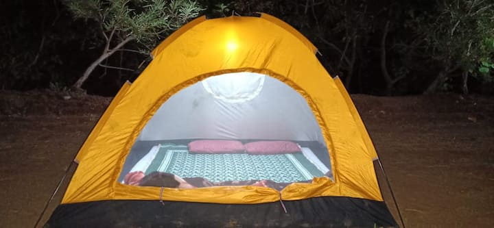 Camping in  arms of nature at Kamshet, Lonavala