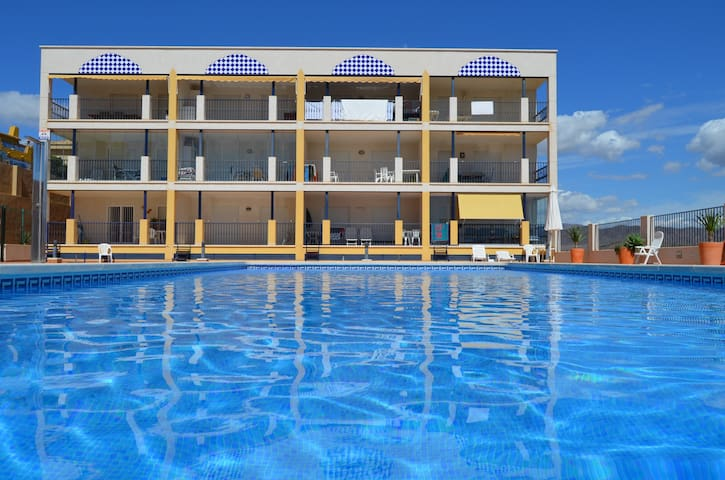 New apartment at 5min from the beach - Calarreona - Condominium