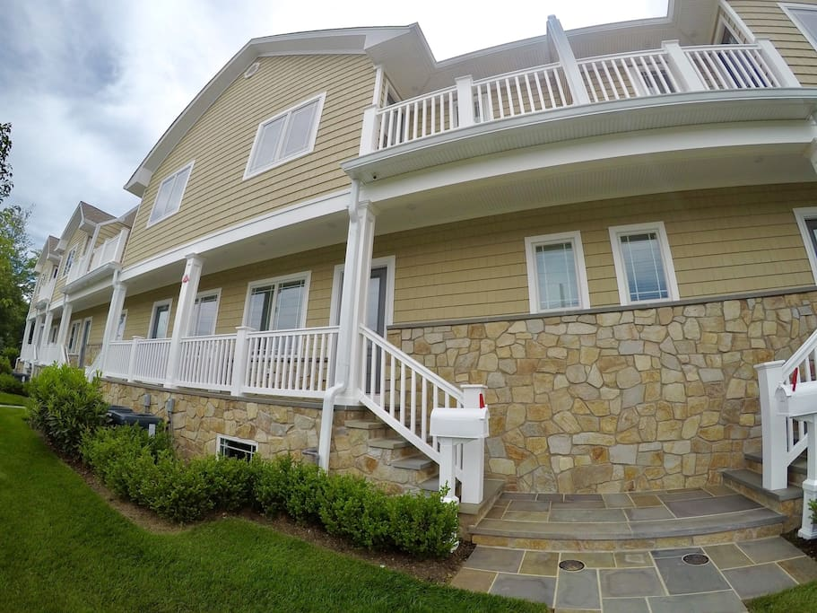 Brand New Rental 1 Block From The Beach Townhouses For Rent In Long Branch New Jersey United