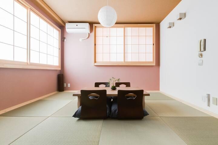 Japanese styled room  日式房间