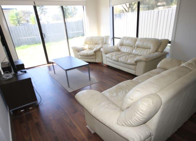 Large light filled living room