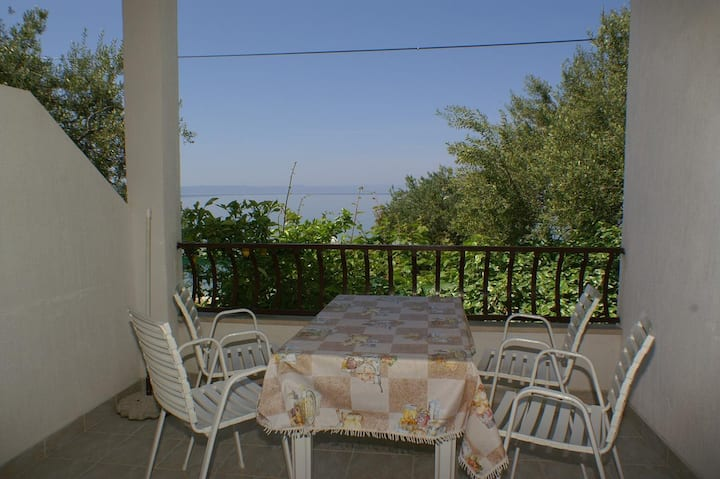 One bedroom apartment near beach Tučepi, Makarska (A-2694-b)