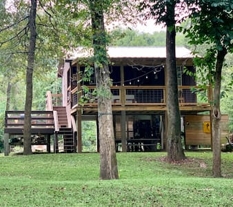 The Blue Heron Cabin on the Bogue Chitto River