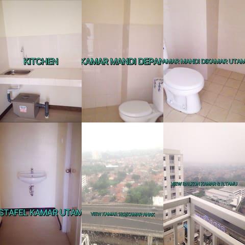 3br Unit Kosongan Siap Jual - Bogor - Apartament