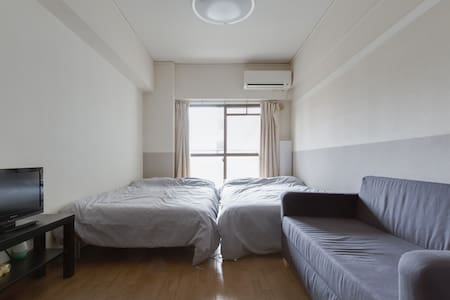 K5-1 Cute-room!! Tennoji 3min! - Tennoji Ward, Osaka - Apartament