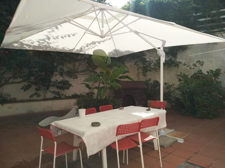 Large apartment with  garden in Lecce