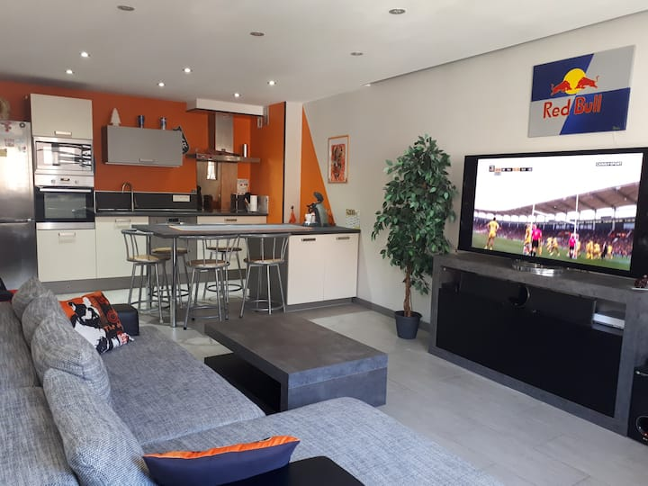 Bel appartement moderne tout confort