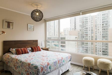Stylish Apt 11st floor near Lastarrias Santiago CL - Pis