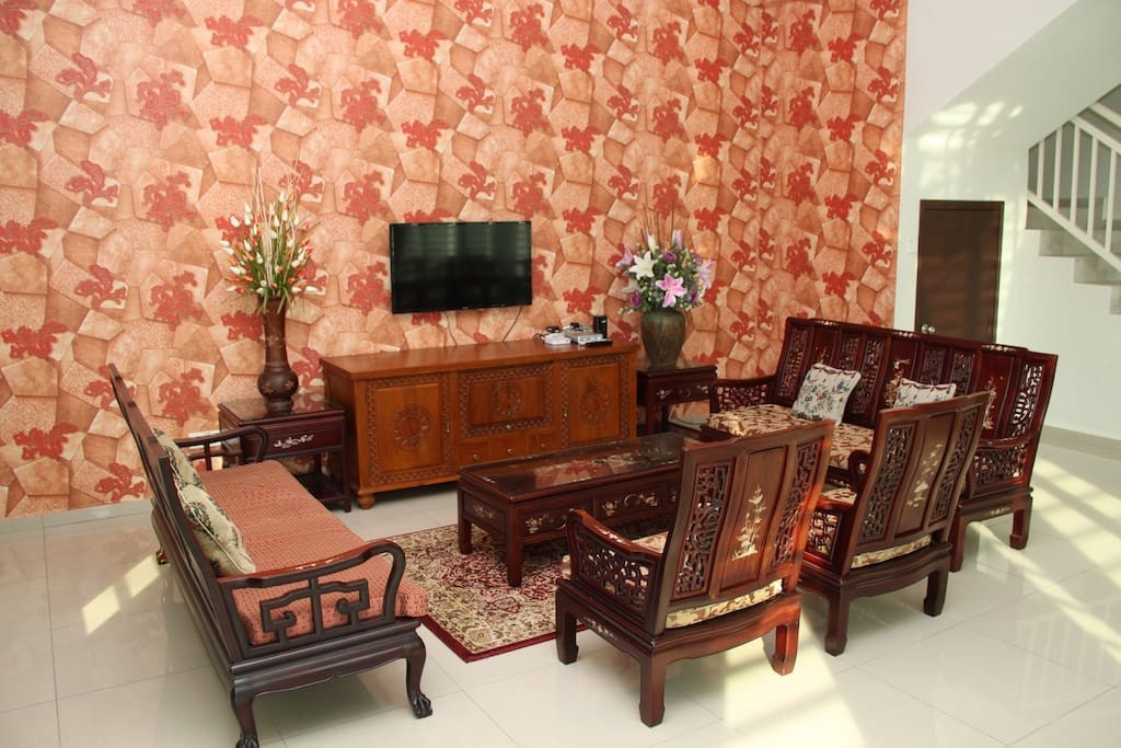 Living hall. Common area