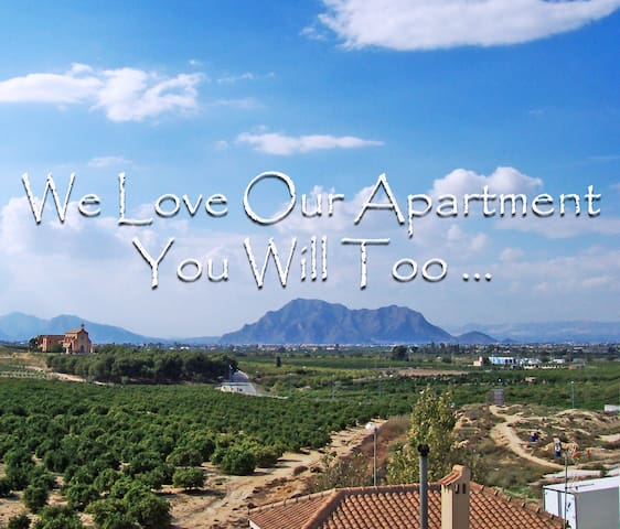 Lovely 2 Bed Apartment with Views (Algorfa Spain) - Algorfa