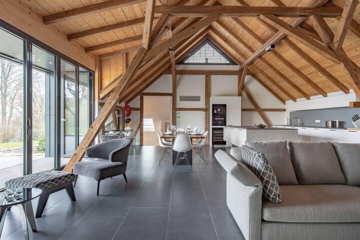 Rebenhaus-Loft in den Weinbergen mit großer Terrasse