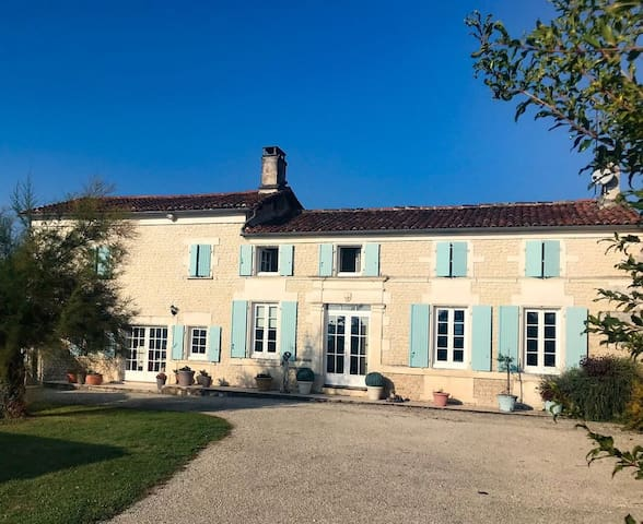 Villa near Cognac, with private pool and garden