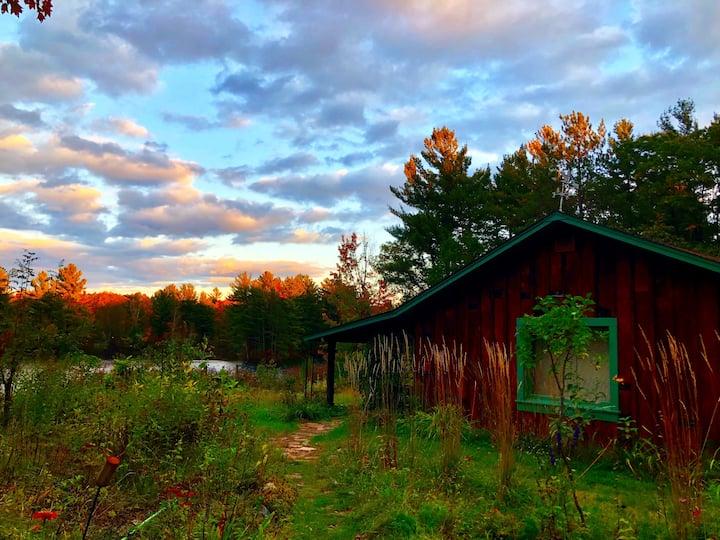 GLAMPING STUDIO + Breathtaking Lakeside Panorama