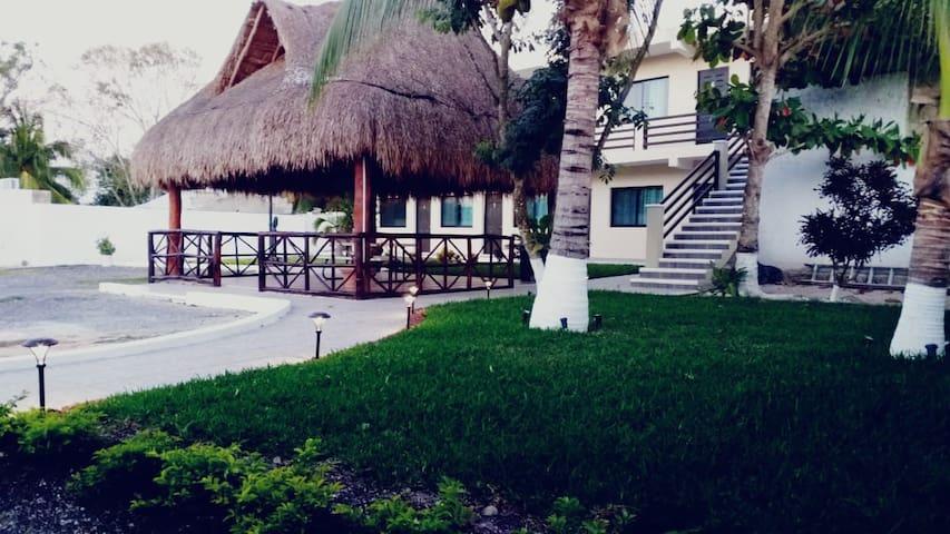 Jardín- Palapa