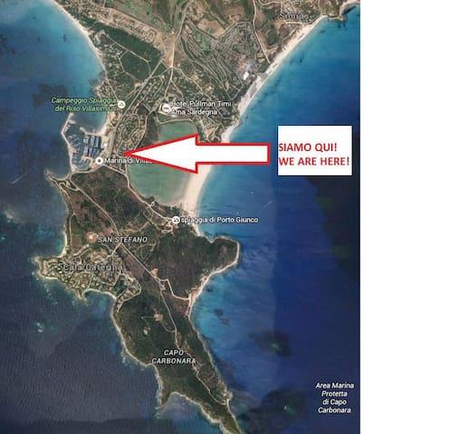 siete al centro dell' Area Marina Protetta di Capo Carbonara, non portatevi dietro il fucile sub