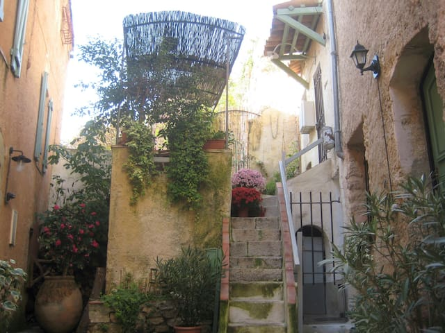 Artists house in provençal village - Котиньяк - Дом