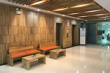 Building Lobby and access to elevator. There are 2 service elevators for your convenience.