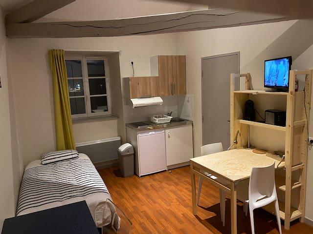 Studio confort Ester Technopole, Zénith, Aquapolis