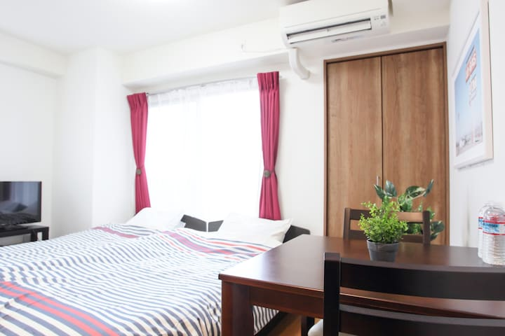 New❤ 15min from Namba/Dotonbori! LF-203 - 大阪市 - Apartemen