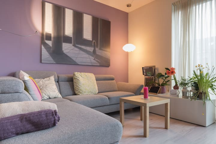 Clean quiet luxury family house,  2- 7 pers - Alphen aan Den Rijn - Casa