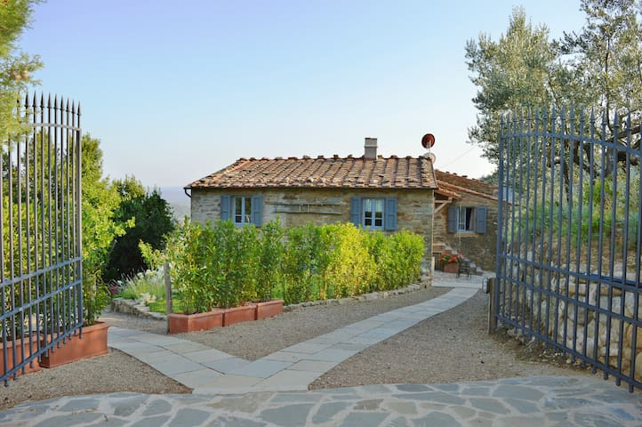 Renovated Tuscany farmhouse 30 km from Florence - Loro Ciuffenna - Lejlighed