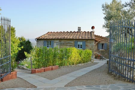 Renovated Tuscany farmhouse 30 km from Florence - Loro Ciuffenna - 公寓