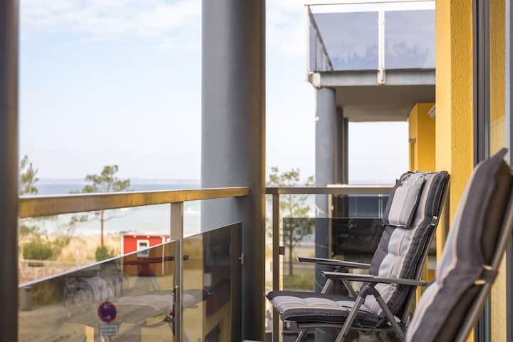 Seaside-Strandhotel Balkonzimmer 8