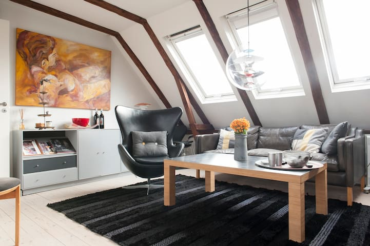 Penthouse-style with big terrace - Kopenhagen - Appartement
