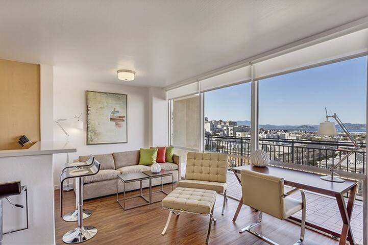 Stunning 1BR Apartment in North Beach