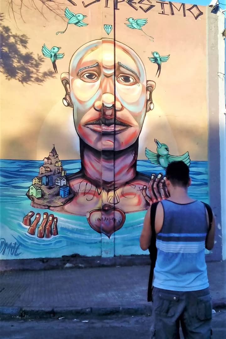 Muralismo en Barracas