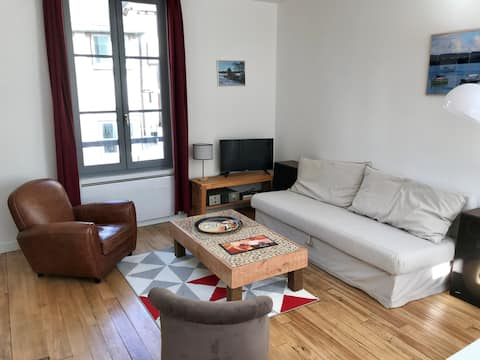 Duplex apartment downtown in very good condition