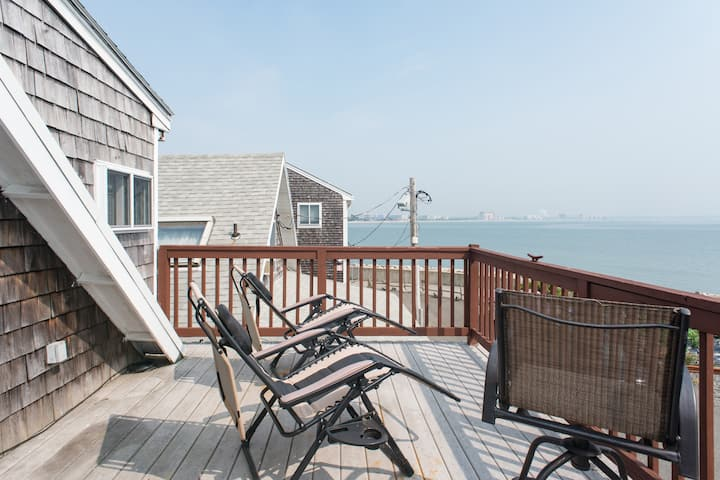 Cape cod style seaside condo Boston, Airport,Train