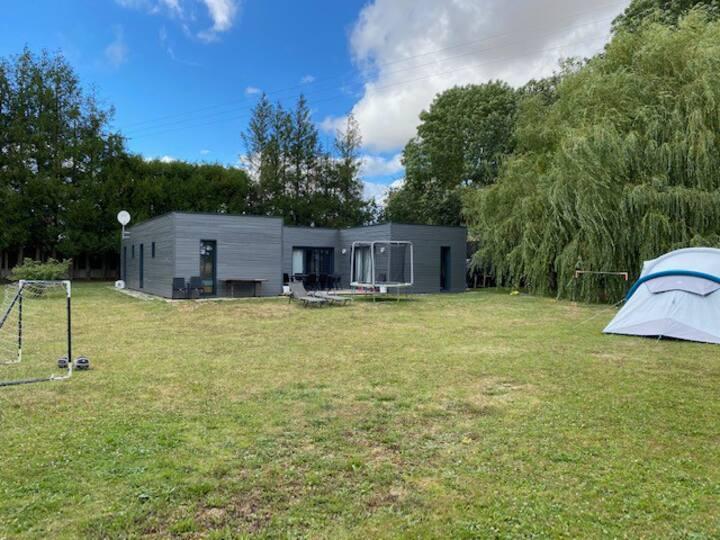 Maison en bois dans les Yvelines, 4 chambres
