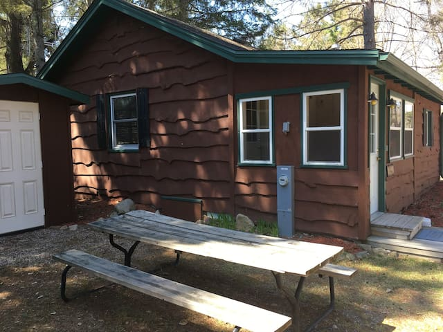 Cottage on Maple Lake located in Three Lakes, WI