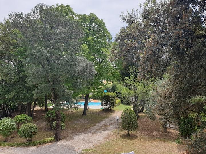 Villa con grande giardino e piscina - Falconara