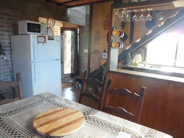 La HORA MÁGICA, fresca y acogedora - Punta Negra - House