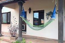 Que tal una relajante siesta en hamaca