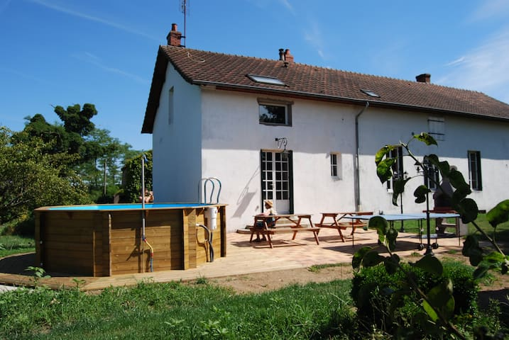 large country house south Burgundy - Saint-Vallier - Rumah