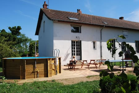 large country house south Burgundy - Saint-Vallier - Dům