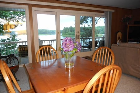 Lakefront cottage with a view! - Gaylord