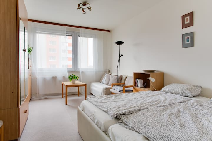 3 BEDS+BREAKFAST+WIFI+PARKING - Praha - Apartamento