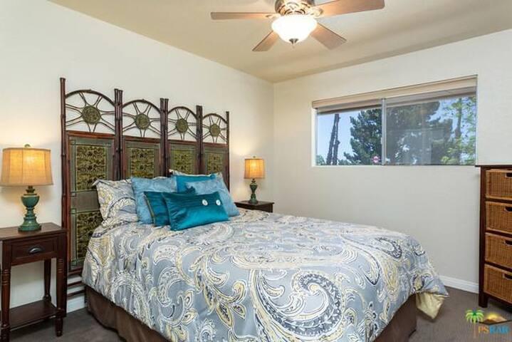 Your Bedroom- Brand new Queen Bed.