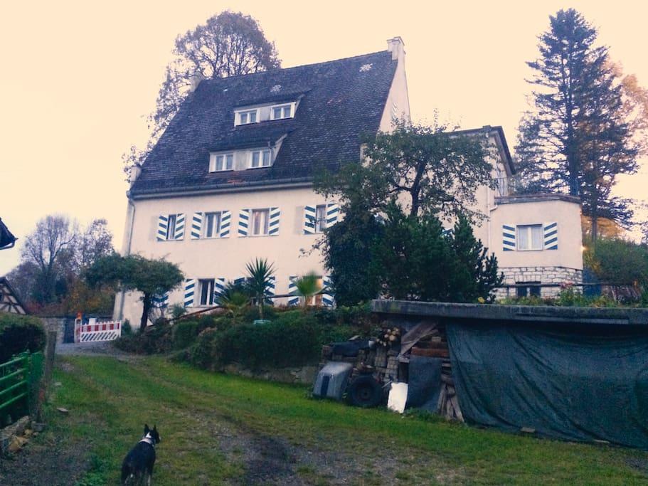 Überblick über das Haus