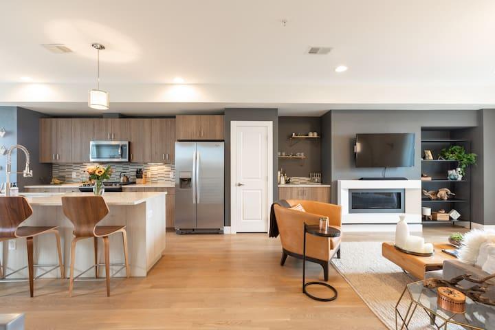 Modern and Spacious Row Home
