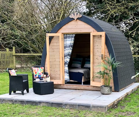 The pamper pod a magical space with a special USP.