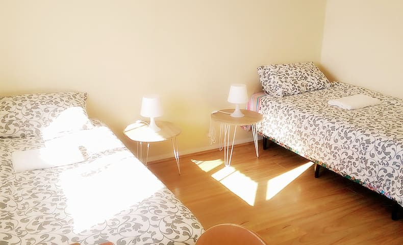 Perth CBD Luxury double room with airconditioning - Perth - Adosado