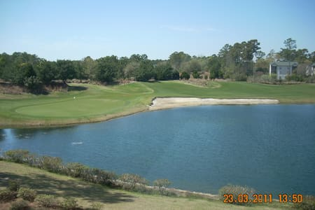 True Blue 3BR/2BA Luxury Condo on 4th Hole - Pawleys Island