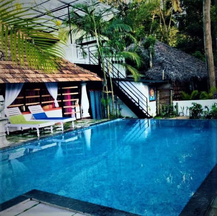 Villa with private pool, Coconut leaf villa