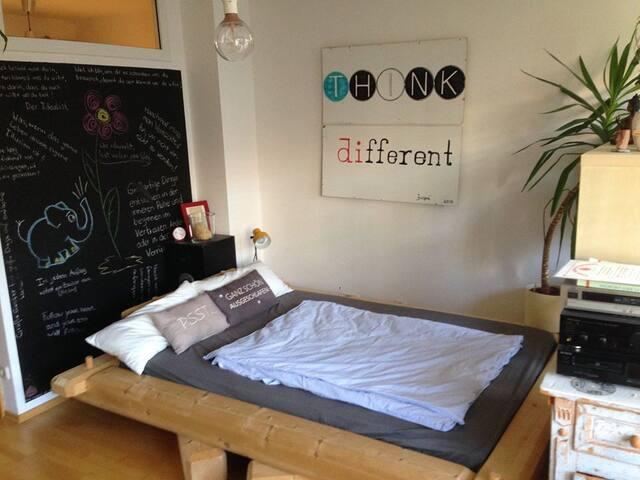 Cozy and quiet apartment near octoberfest