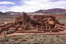 Wapatki and the Painted Desert